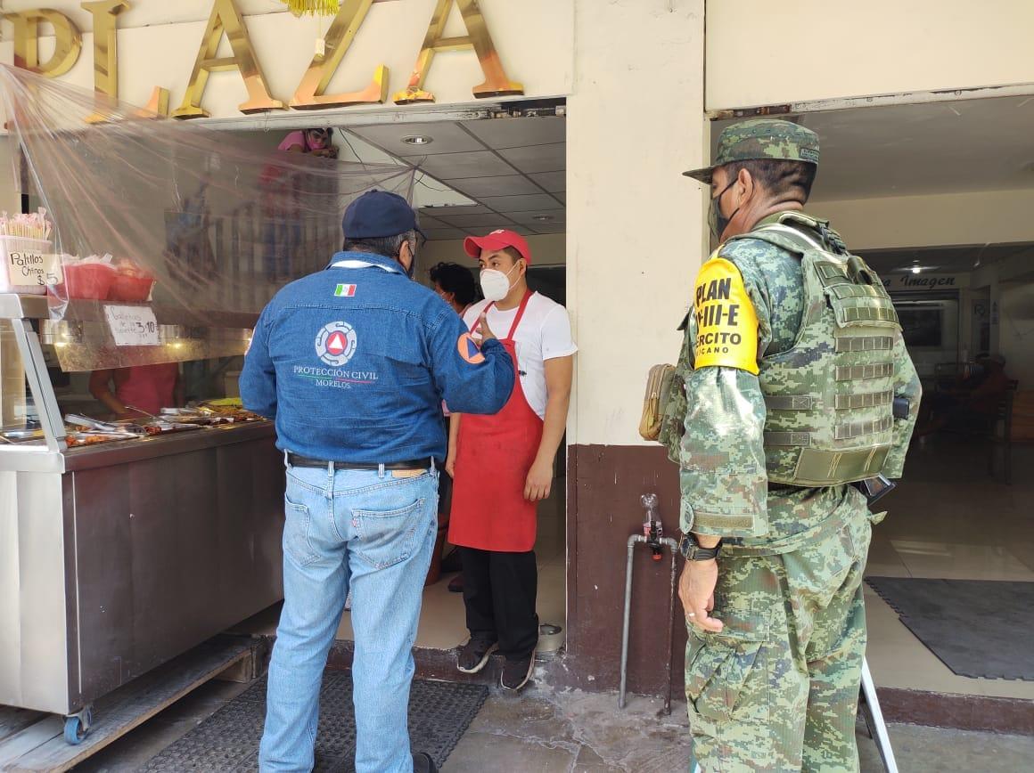 Unidos por Morelos promueve uso completo del escudo de la salud ante COVID-19