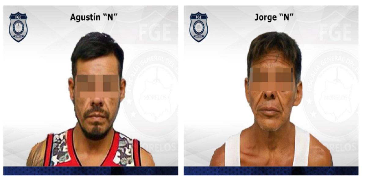 22 años y seis meses de prisión para hombres por robar taxi - Jiutepec - Morelos