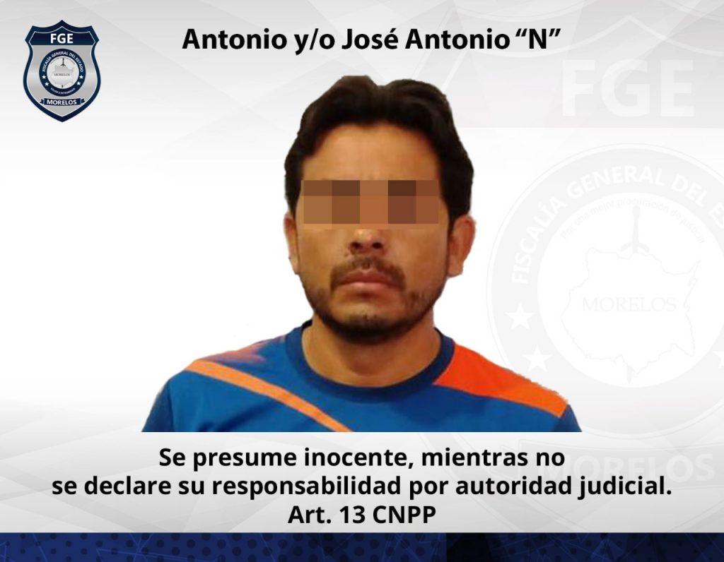 """AIC logró capturar en Jojutla a """"El Toro"""", miembro de una banda de extorsión en el municipio de Zacatepec"""
