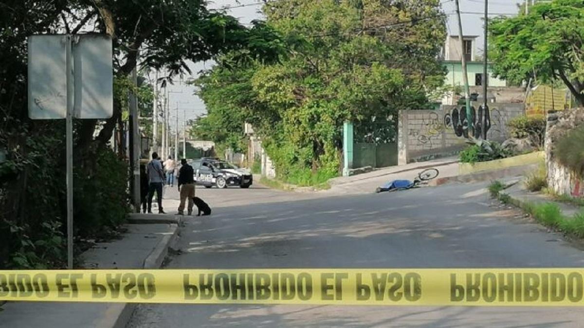 Ciclista murió atropellado por un camión volteo en la carretera Jiutepec – Emiliazno Zapata