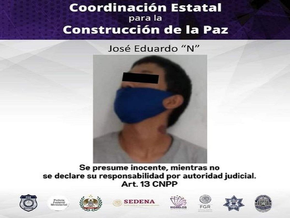 Hombre detenido violencia familiar Jiutepec - Morelos