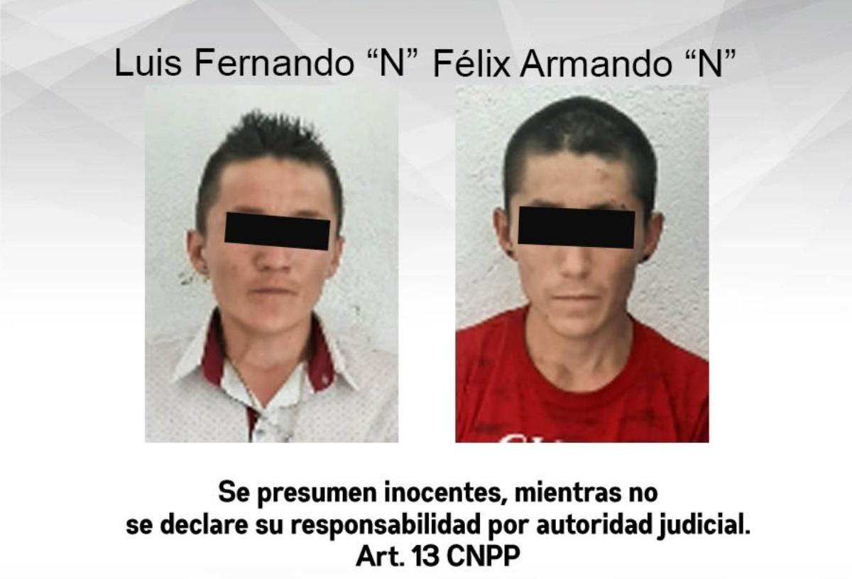 Detienen a dos veinteañeros en Puente de Ixtla por extorsionar al dueño de una forrajería
