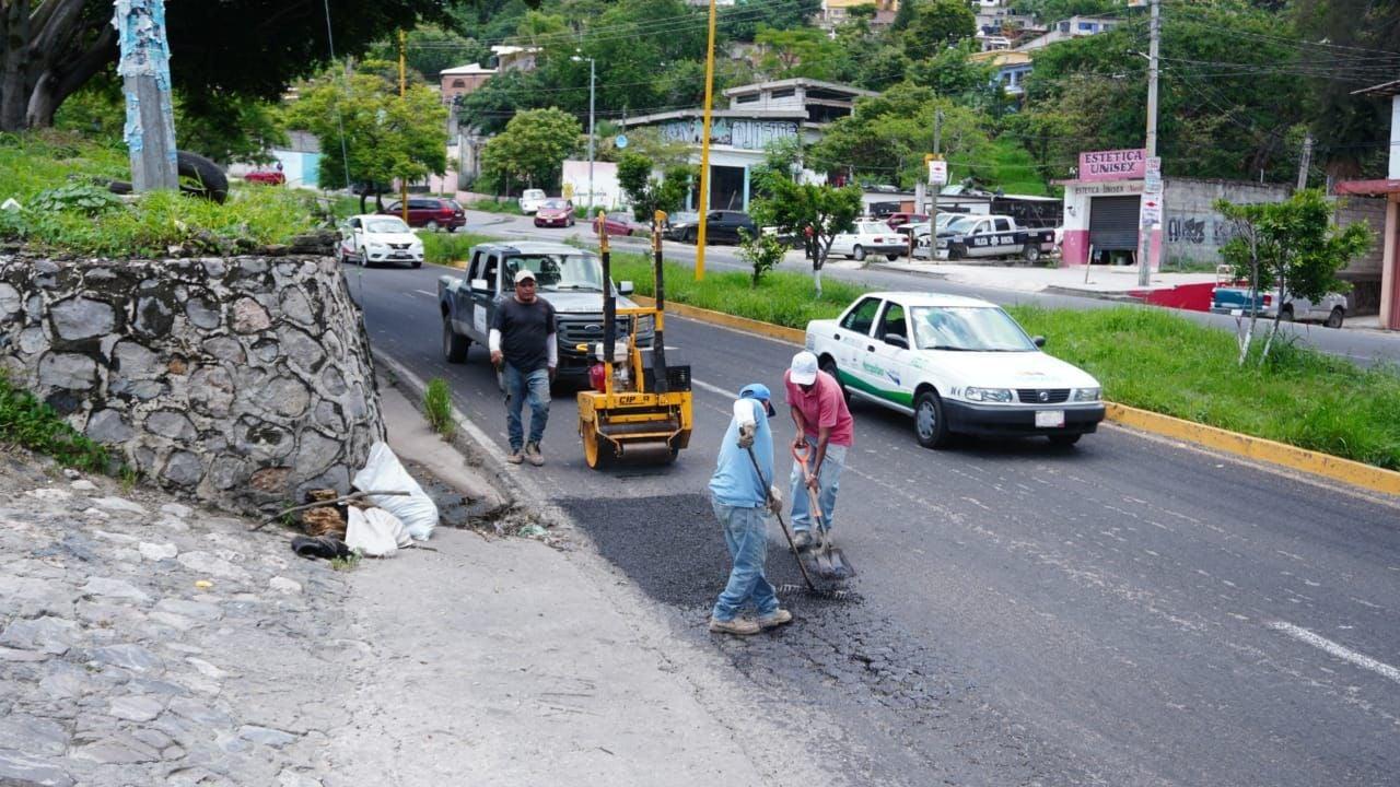Bacheo por lluvias - Jiutepec - Morelos