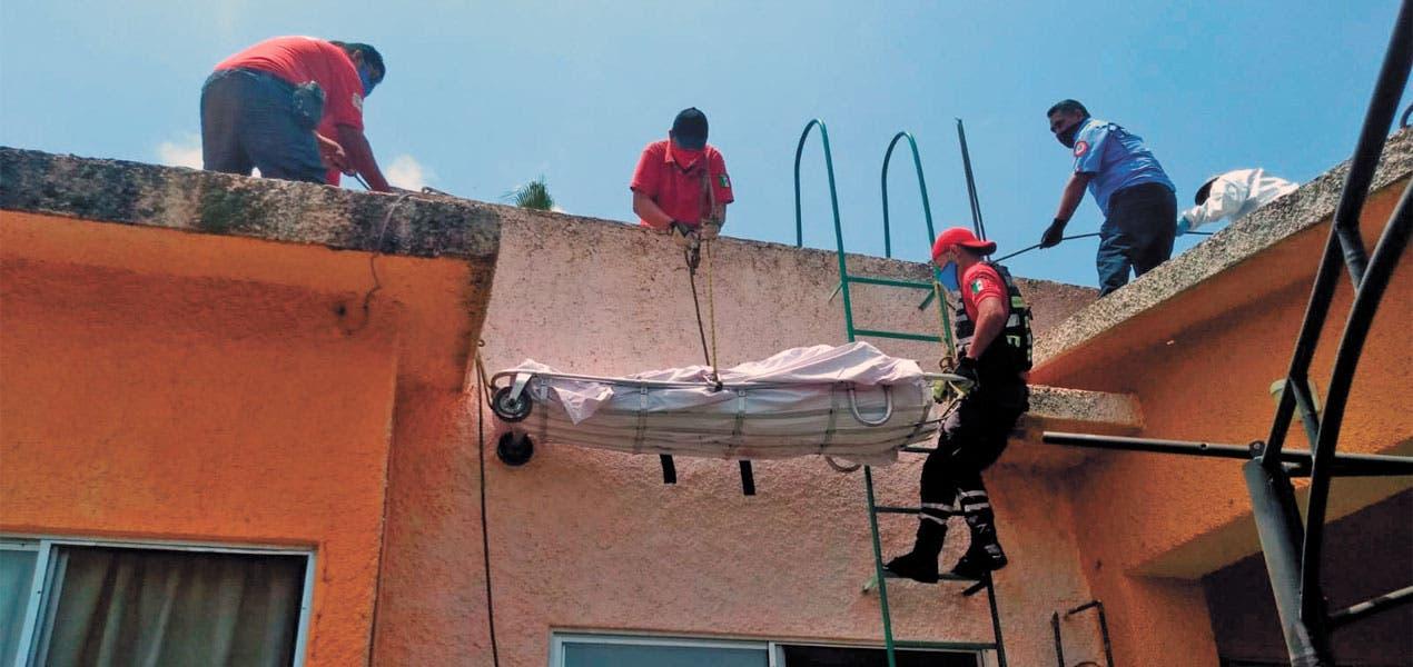 Hombre muere electrocutado en Temixco