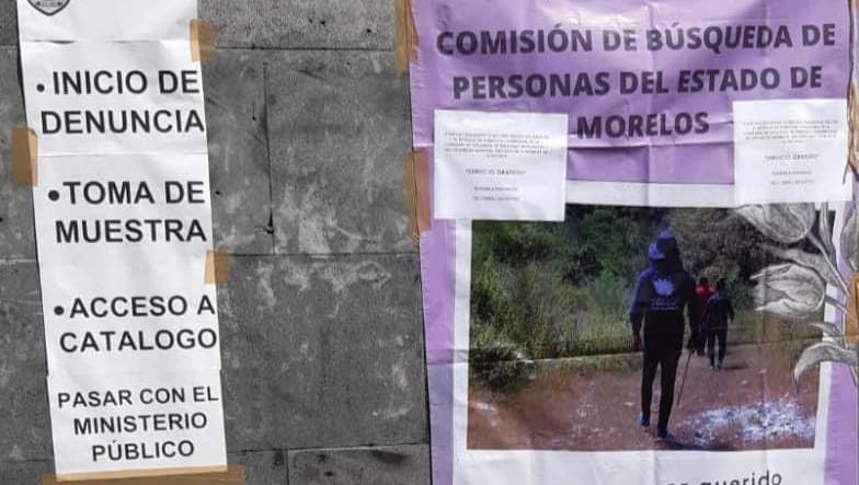 14 personas reportadas como desaparecidas en Cuautla