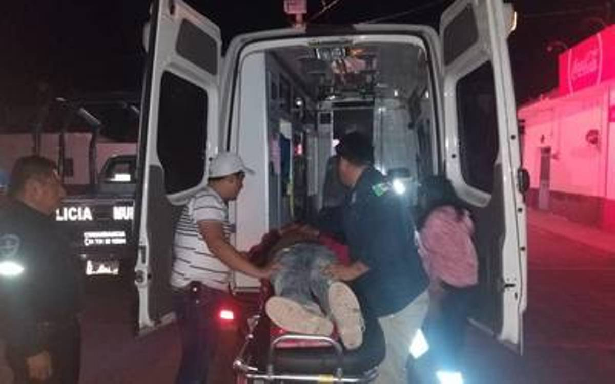 Hombre herido - Tejalpa - Jiutepec