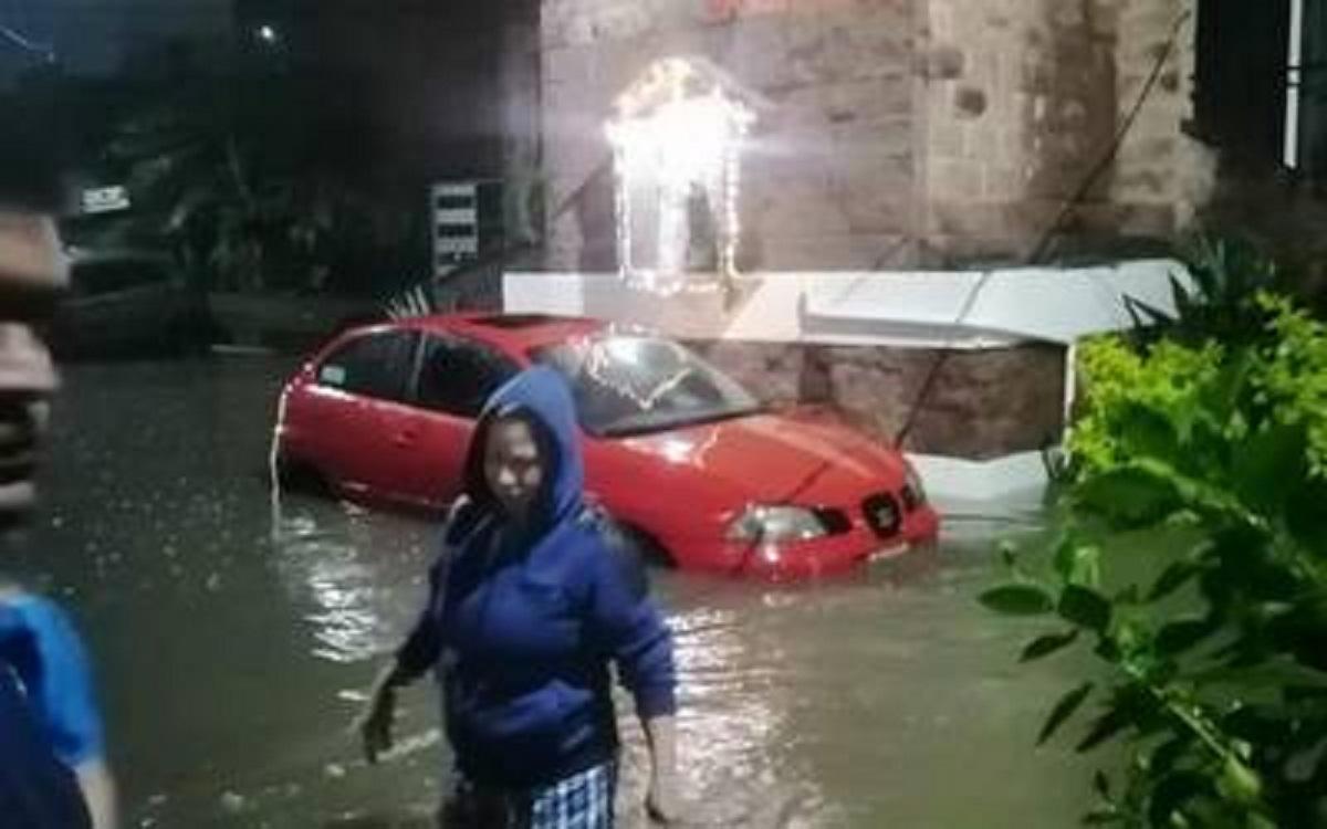 Inundaciones por lluvias - Jiutepec- Morelos