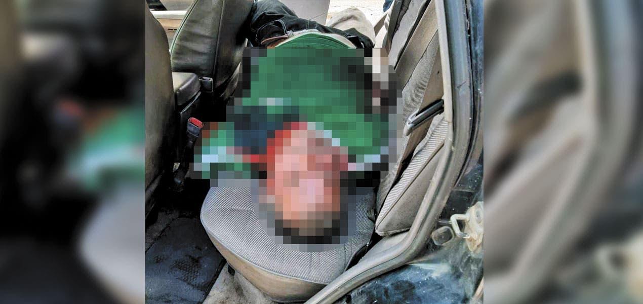 Asesinan a un hombre de 55 años de un disparo en la cara en Yautepec