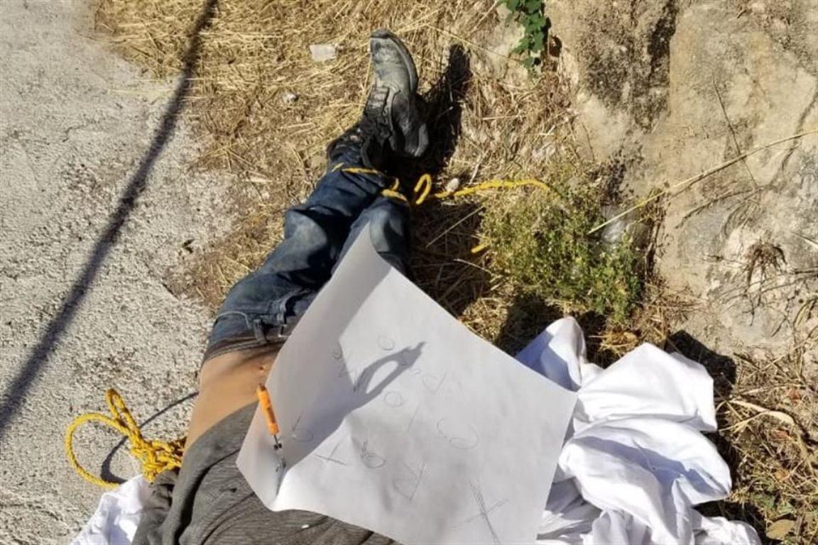 Cadáver de hombre maniatado - Jiutepec - Morelos - México