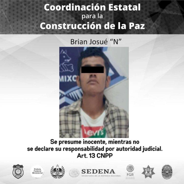 Motorizado roba y amenaza con un cuchillo a clienta de una tienda en Cuernavaca. Intenta huir y es detenido en Temixco