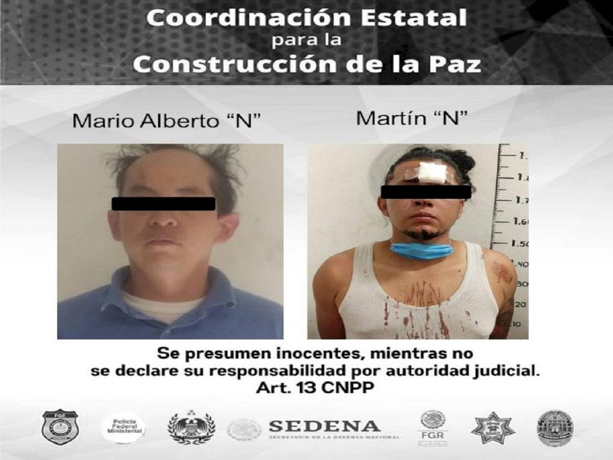 Policía Morelos detiene a dos hombres por violencia familiar. Uno en Emiliano Zapata y otro en Yautepec