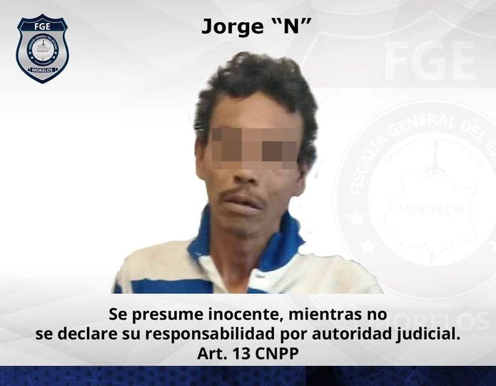 Hombre detenido por robar una escalera - Jiutepec - Morelos