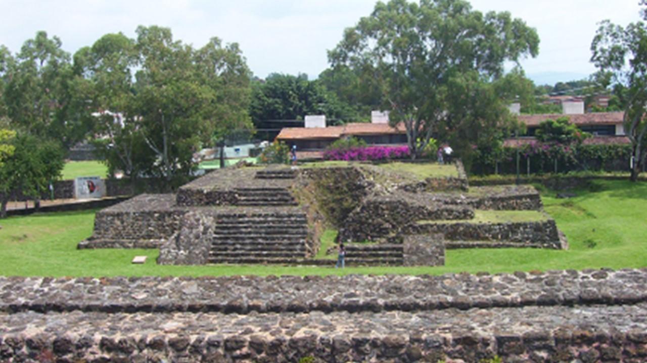 Zona Arqueológica Teopanzolco Cuernavaca
