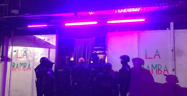 Clausuran Bar La Bamba por incumplimiento del horario durante visita aleatoria de las autoridades en Yautepec
