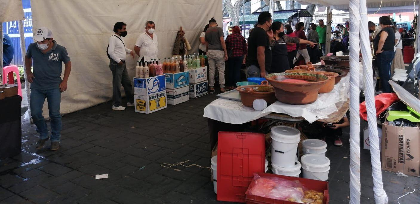 Calle Jardín Juárez de Cuernavaca se mantendrá cerrada hasta el domingo por feria de artesania