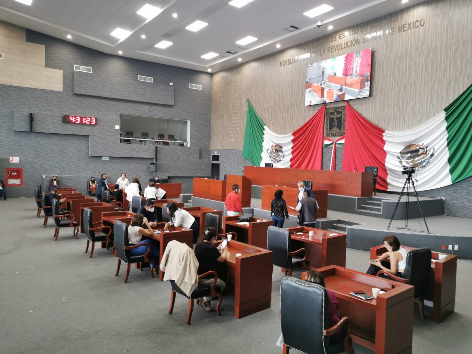 Congreso de Morelos nombramientos IMIPE, TSJ, ESAF