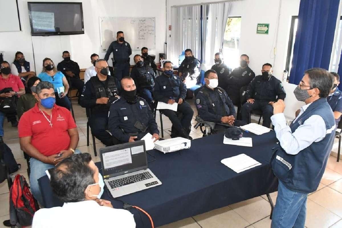 Buscan resguardar al Río Cuautla de los delitos ambientales con curso para policías
