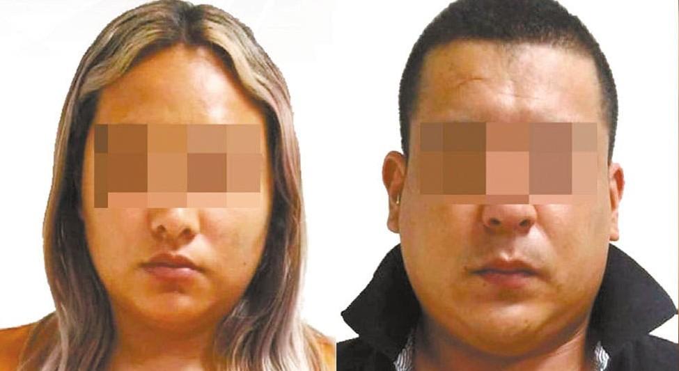 Pareja es detenida en narcotienda en Cuautla