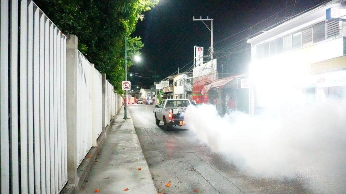Campaña para prevenir dengue, zika y chikungunya se lleva a cabo en Jiutepec