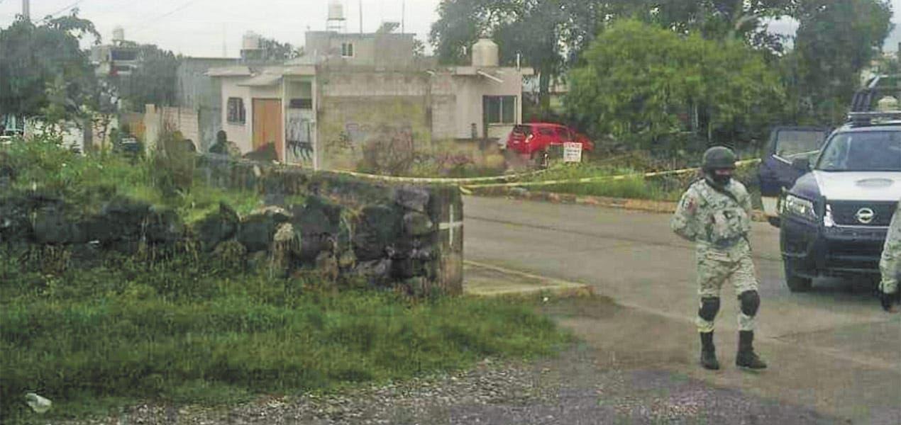 Continúan apareciendo cadáveres asesinados con disparos en la cabeza en Morelos. Esta vez fue en la colonia San Francisco Texcalpan de Jiutepec