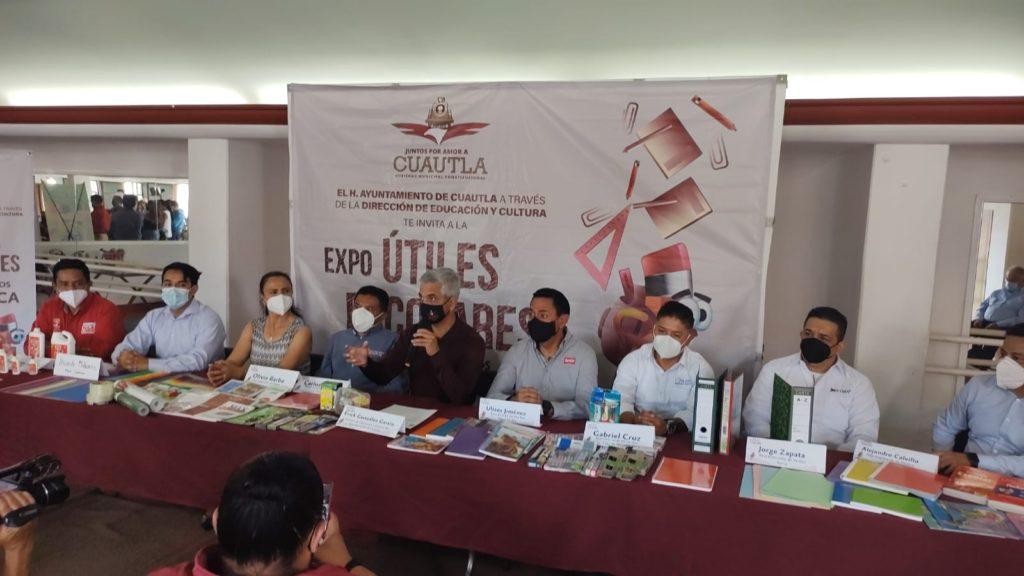 Regresa la Expo Útiles Escolares a Cuautla el próximo 13 y 14 de agosto para favorecer la economía local