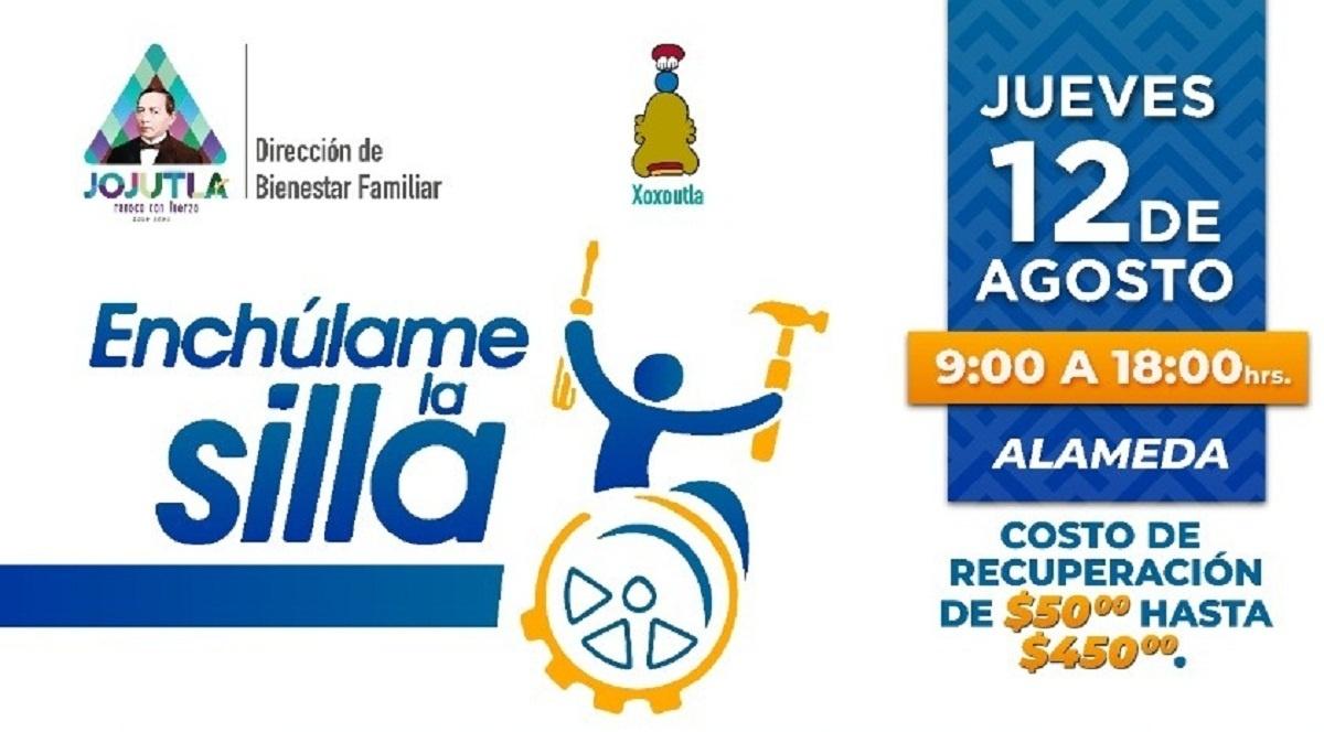"""Programa """"Enchúlame la Silla"""" ofrecerá reparación y mantenimiento para sillas de ruedas en Jojutla"""
