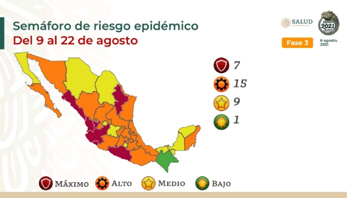 Semáforo de Riesgo Epidémico México