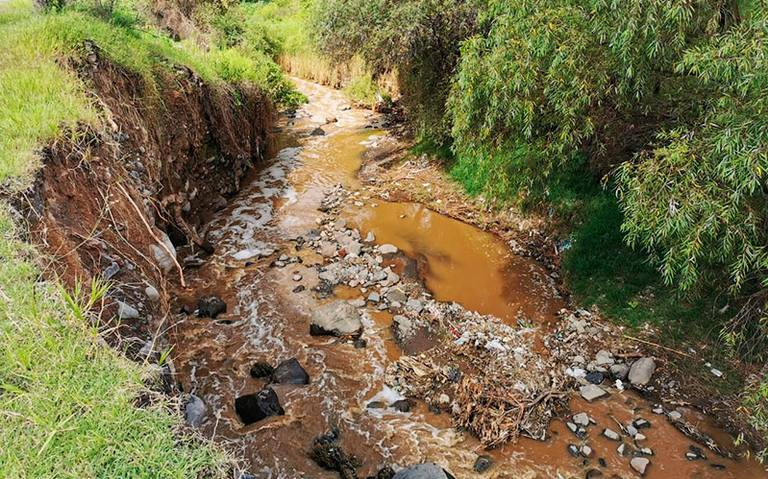 Piden Ejidos a las autoridades estatales y municipales que realicen trabajos de seguridad en las zonas desmoronadas del Río Cuautla