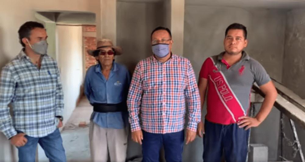 Benefician a familias de Yautepec con programa de mejoramiento de vivienda
