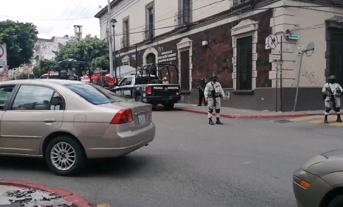 Amenaza de bomba en bomba en oficinas de la Junta Local de Conciliación y Arbitraje de Cuernavaca