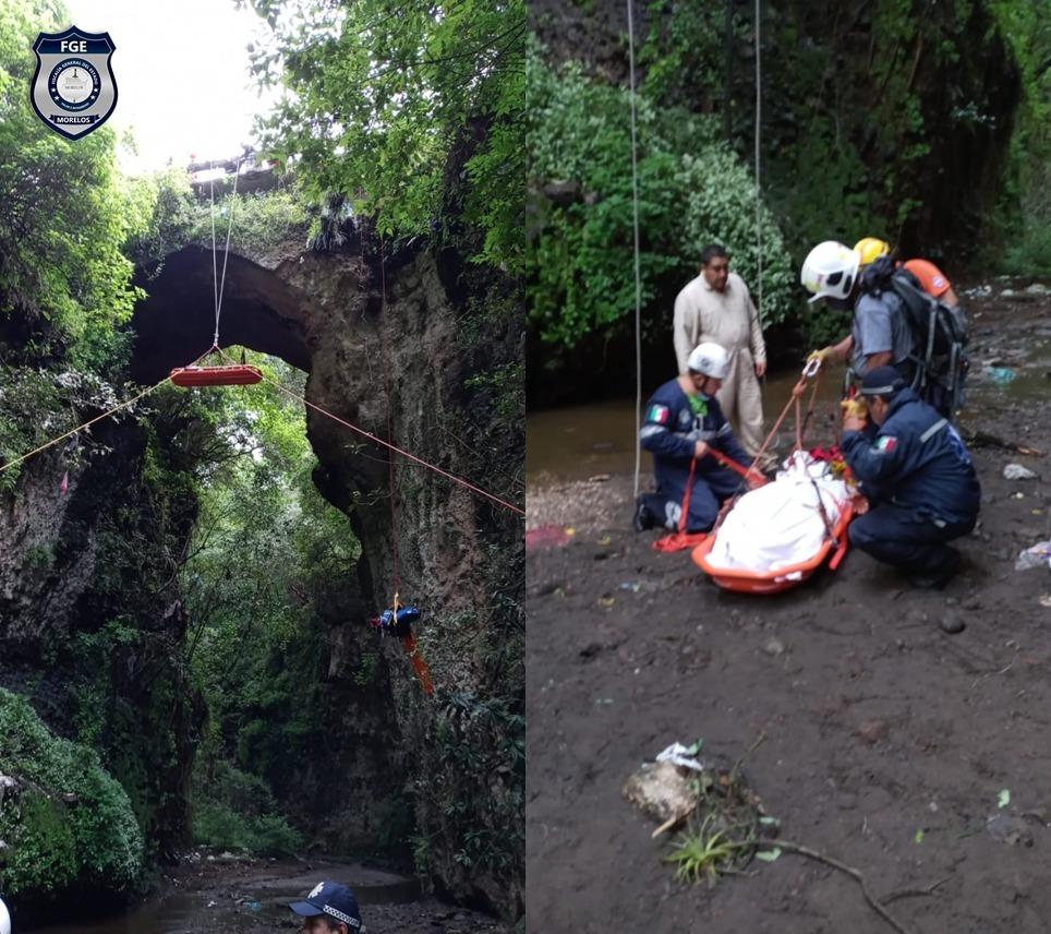 Paramédico pierde la vida mientras realizaba labores de rescate en el municipio Yecapixtla